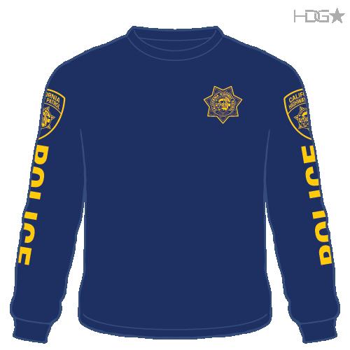 Chp Navy Long Sleeve T Shirt