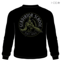 Gladiator School Adult Long Sleeve T Shirt