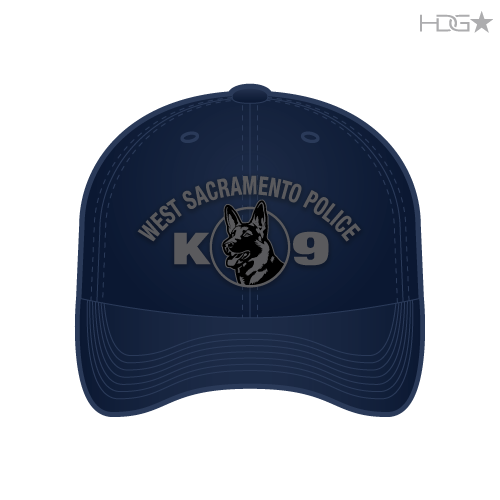 West Sacramento Police K 9 Unit Dark Navy Flexfit 174 Hat