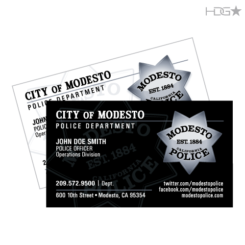 Modesto police department business cards hdg tactical modesto police department business cards colourmoves