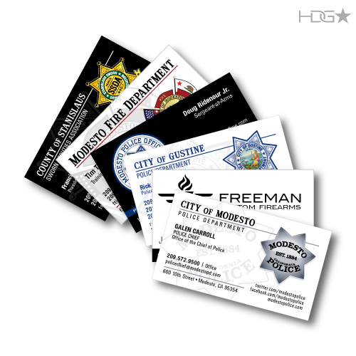 Custom business cards design hdg tactical custom business cards design reheart Gallery