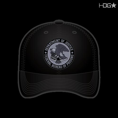 Bop Correctional Officer Black Hat