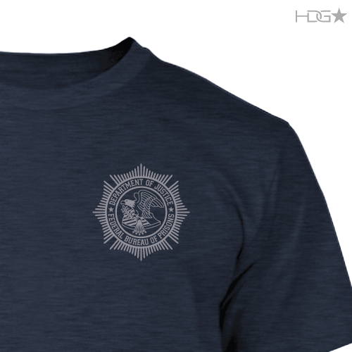 BOP Navy Heather Premium Fitted T-Shirt - HDG★ Tactical