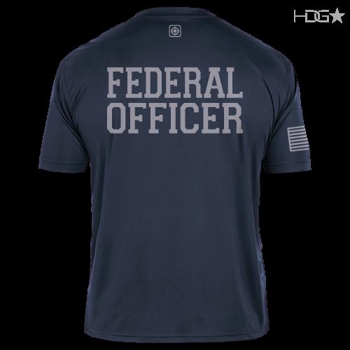 Bop Navy Premium Performance T Shirt Hdg★ Tactical