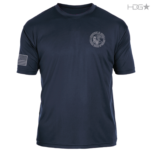 Bop Navy Premium Performance T Shirt Hdg★ Tactical