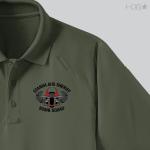 CA Stanislaus Sheriff Bomb Squad OD Green Polo