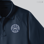 CA Modesto Police Officer's Association Navy Polo