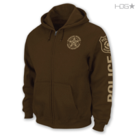 EYEKON Series® Custom 50/50 Zip-Up Hooded Sweatshirt