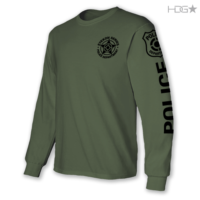EYEKON Series® Custom Cotton Long Sleeve T-Shirt