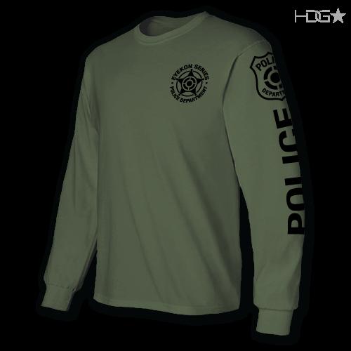 EYEKON Series® Custom Cotton Long Sleeve T-Shirt