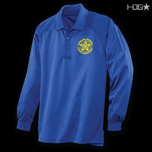 EYEKON Series® Custom Long Sleeve Tactical Performance Polo
