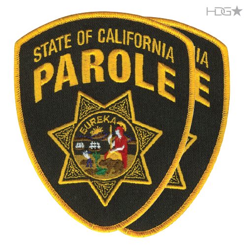 Authorized California Parole Shoulder Patch Hdg Tactical