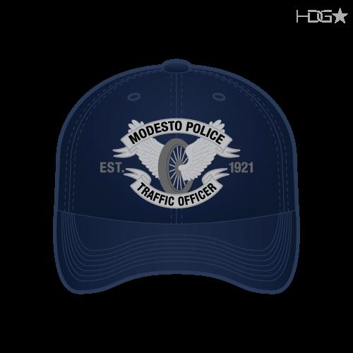 CA Modesto Navy Traffic Hat