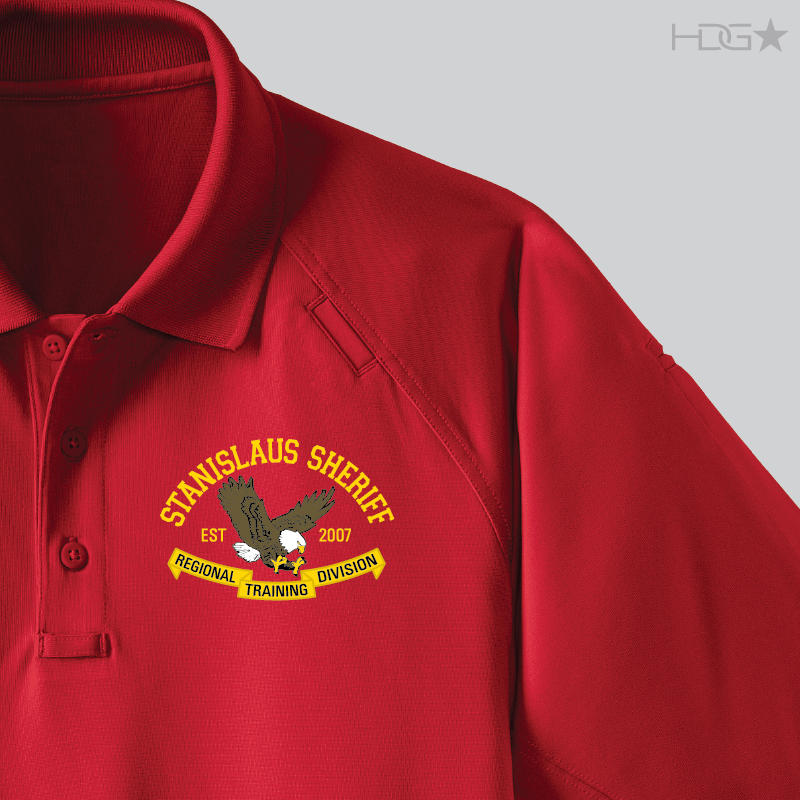 35a9a00084604 Stanislaus County Sheriff RTC Range Red Tactical Polo - HDG☆ Tactical