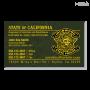 CA CDCR Business Card (OD Green)