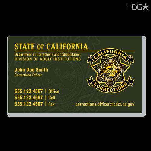 Cdcr Business Cards