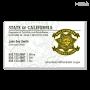 CA CDCR Business Card (White)