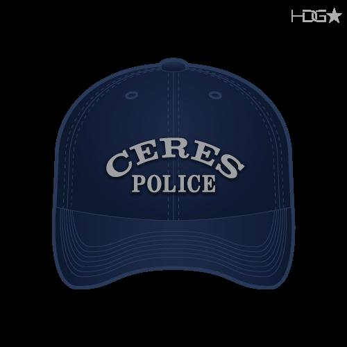CA Ceres Police Navy Hat
