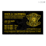 CA Parole DAPO Business Card (Black)