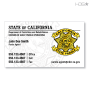 CA Parole DAPO Business Card (White)