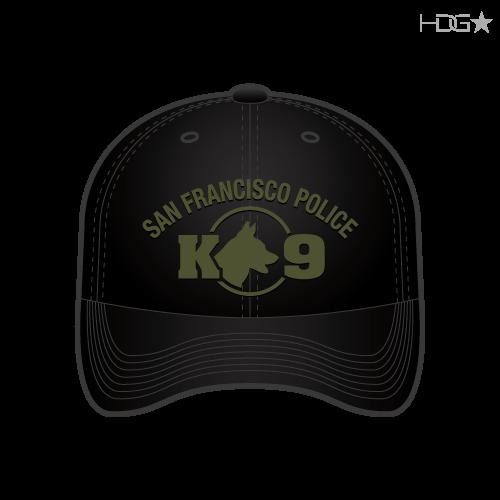 San Francisco Police Patrol K-9 Unit Black FLEXFIT® Hat