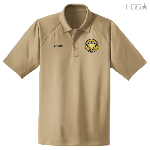 52b93d50e6fb8 Stanislaus County Sheriff Clerical Staff Sand Tactical Polo - HDG ...