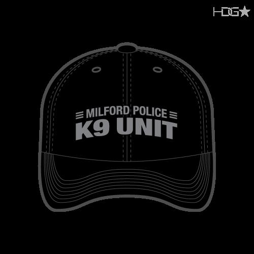 DE Milford K9 Black Hat