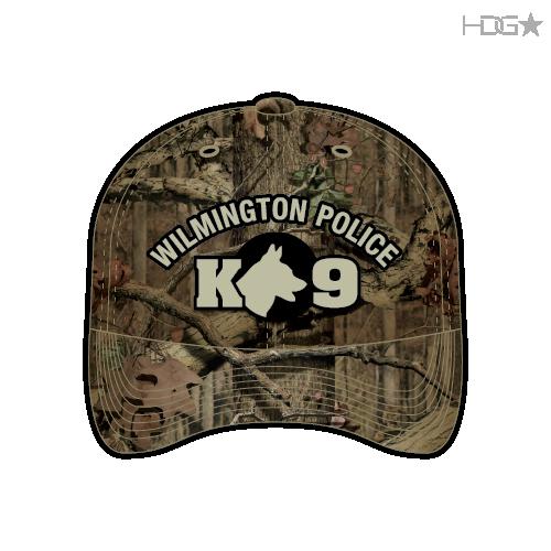 DE Wilmington Police K9 Camo Hat