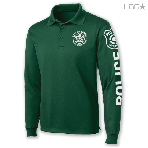 EYEKON Series® Custom Long Sleeve Performance Polo