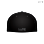Black Hat w/ Dk Grey Name