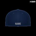 Navy Hat w/ Med Grey Name