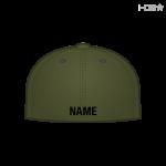 OD Green Hat w/ Black Name