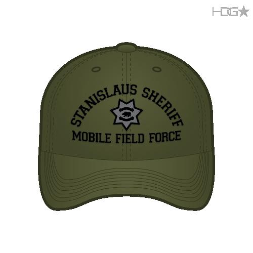 CA Stanislaus Sheriff MFF OD Green Hat