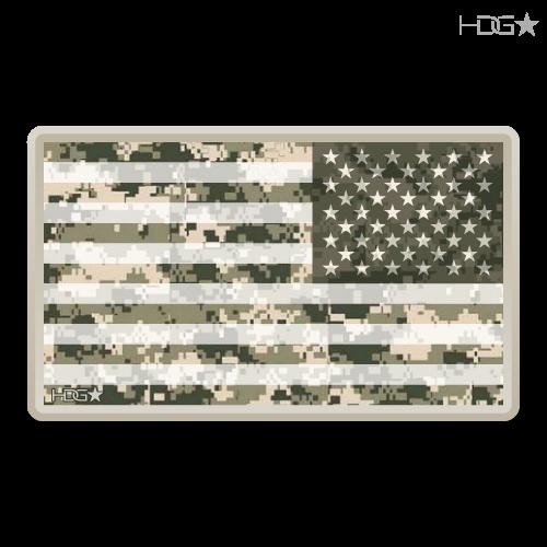 Us Flag Digital Camo Decal Hdg★ Tactical