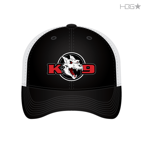 535b21a2 Newman Police K-9 Association Black FLEXFIT® Trucker Mesh Hat - HDG ...