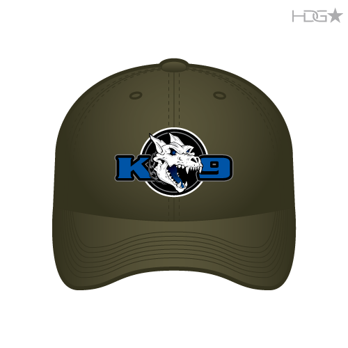 01f0e530 Newman Police K-9 Association Olive FLEXFIT® Hat - HDG☆ Tactical
