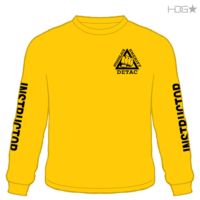 18bcd8c45975e Stanislaus County Sheriff DETAC Instructor Gold Long Sleeve Performance  T-Shirt – Pre-Order