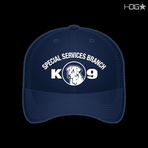 9a93d9b8bbca2 CIA Police K-9 Unit Dark Navy FLEXFIT® Hat - HDG☆ Tactical