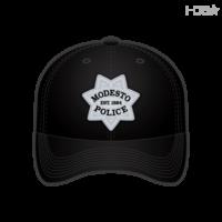 2ceb40f1595d4 Modesto Police Animal Control Officer Black FLEXFIT® Hat