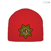 ca-parole-patch-red-beanie-front