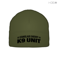 Stanislaus County Sheriff K-9 Unit OD Green Microfleece Beanie