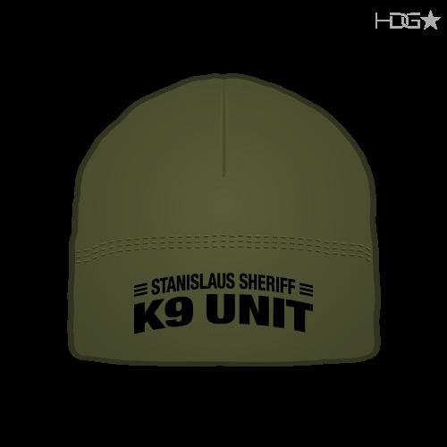 Stanislaus County Sheriff K-9 Unit OD Green Microfleece Beanie