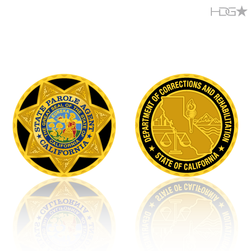 Challenge Coin Designs - HDG☆ Tactical