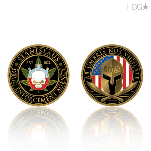 Challenge Coin Designs Hdg★ Tactical