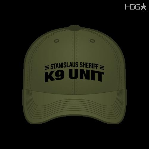 Stanislaus County Sheriff K-9 Unit OD Green FLEXFIT® Hat