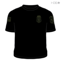 Milford Police K-9 Unit Black / Grey T-Shirt