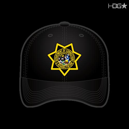 CDCR Badge Hat