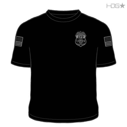 Atf Police T Shirt Hdg Tactical