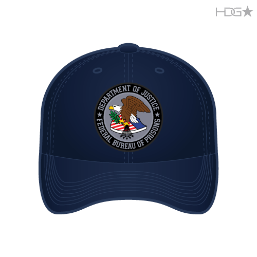 Bop Correctional Officer Black Hat