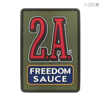 2a-freedom-sauce-pvc-patch-odgreen